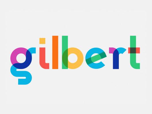 吉尔伯特Gilbert-Color Bold Preview醒目的标题和声明的字体