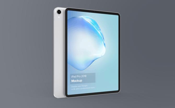 2018版 iPad Pro Mockup样机素材模型素材下载