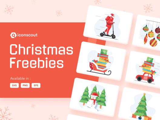 14张圣诞节相关插画包 14 Christmas illustration bag