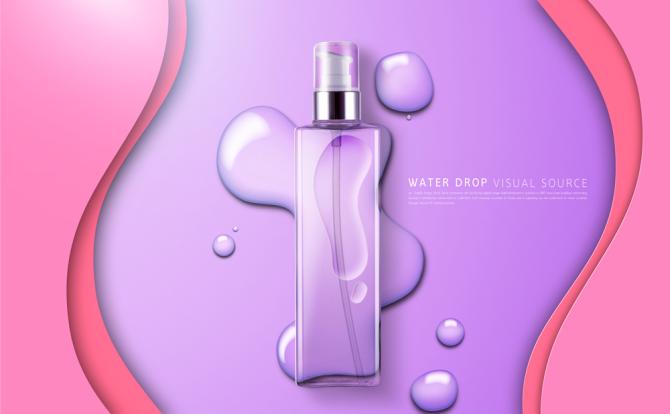 提升产品海报设计质感必备 透明水珠素材