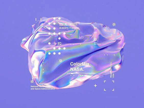 海外设计师偷偷在用的液态风格素材你确定不收藏?