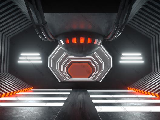 36款电商C4D炫酷3D舞台建模素材 3D stage material