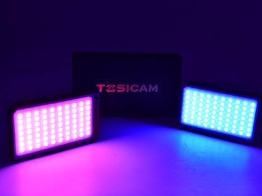 朋友圈获赞神器,TOSICAM萤火虫RGB补光灯
