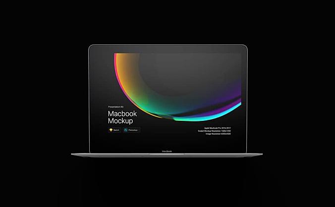 4.21GB极简主义高级感简约场景Macbook Pro笔记本设计样机模板Macbook Pro Mockups