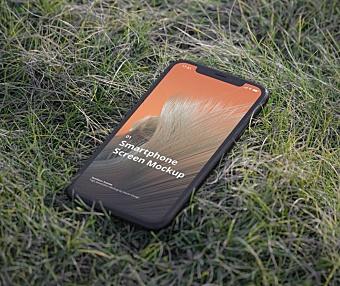 街区&户外场景手持iPhone苹果手机设计样机模板 iPhone Mockup Outdoor Scenes