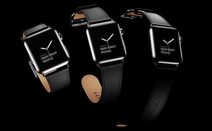 2.92GB苹果智能手表Apple Watch设计样机模板Apple Watch Mockups