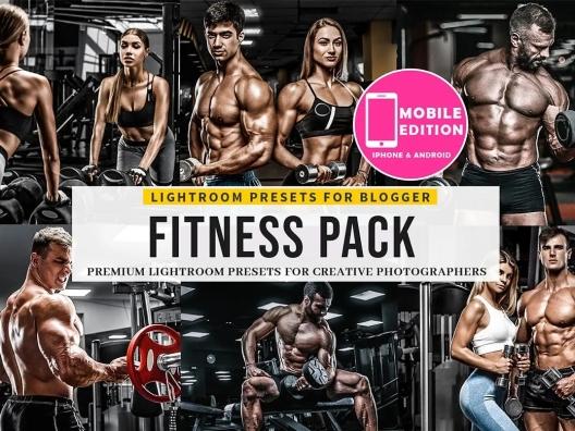 LR调色健身房人物摄影小麦色咖啡色预设elements-fitness-lightroom-presets-UGTHXA6