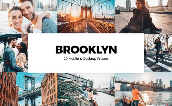 20种城市街头景区照片LR调色预设 20-brooklyn-lightroom-presets-luts