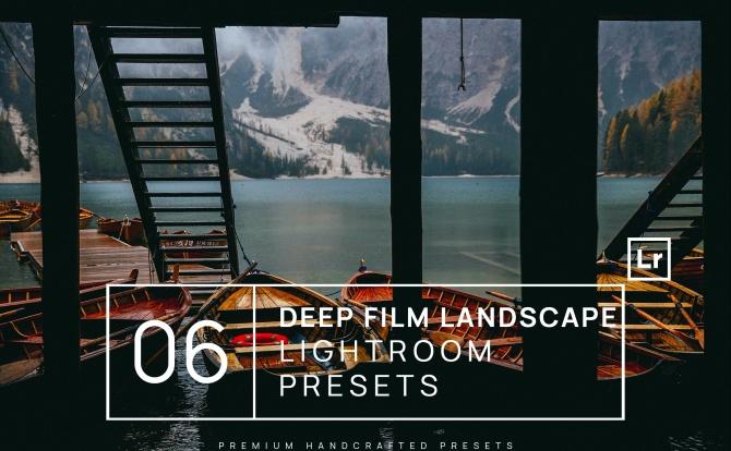 6种城市街道高级深色系质感Lightroom滤镜预设 6-deep-film-landscape-lightroom-presets-mobile