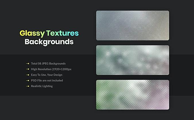 磨砂质感玻璃纹理背景图素材glassy-textures-and-backgrounds