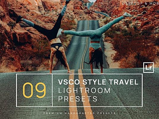 9款VSCO风格户外旅行主题Lightroom调色滤镜预设 9-vsco-style-travel-lighroom-presets-mobile
