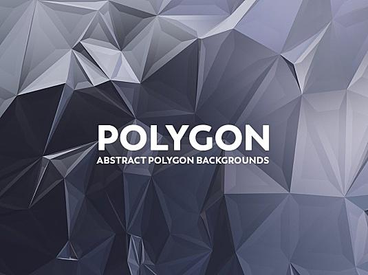 几何抽象多边形镜面背景图素材v2 abstract-polygon-backgrounds