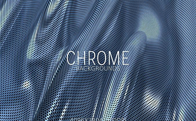 铬金属质感高清背景图素材 chrome-metal-backgrounds