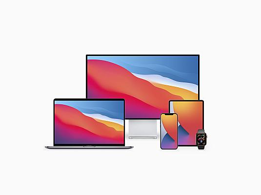 1.3GB15种Apple苹果设备前视图设计样机15 Apple Devices Mockups