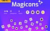 17个不同主题的矢量icon图标素材包 Magicons icon